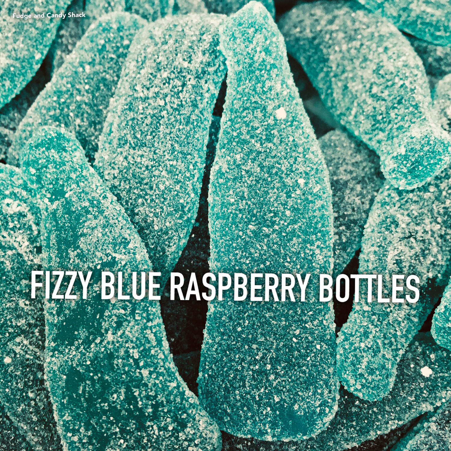 FIZZY BLUE RASPBERRY BOTTLES