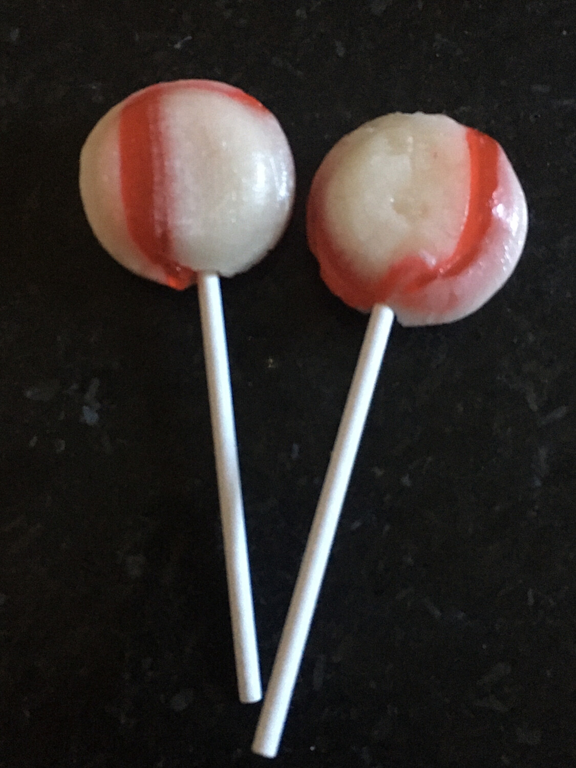 Raspberry Ripple Mega lollies