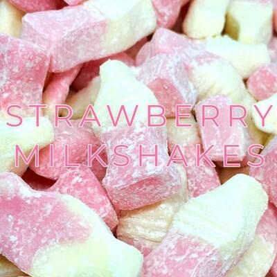 Strawberry Milkshakes 3KG Bag