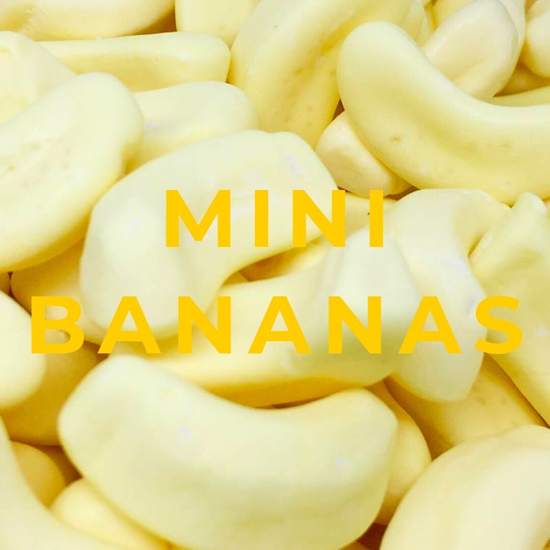 Mini Foam Bananas 3KG Bag