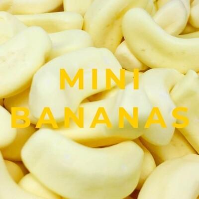 Mini Foam Bananas 3KG Bag