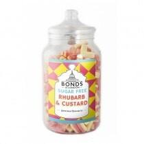 Jar Of Sugar Free Rhubarb And Custard