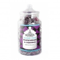 Jar Of Sugar Free Blackcurrant And Liquorice