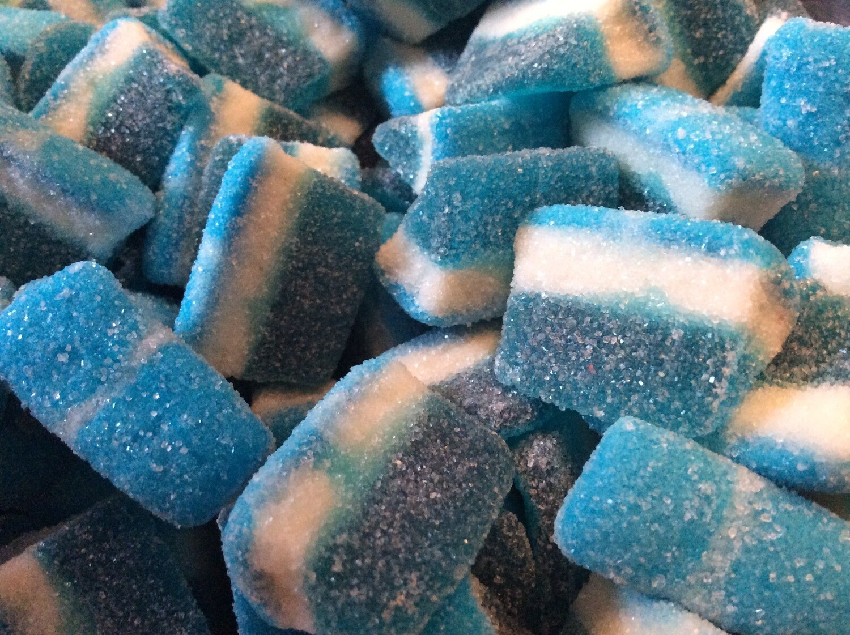 Blue Raspberry Slices