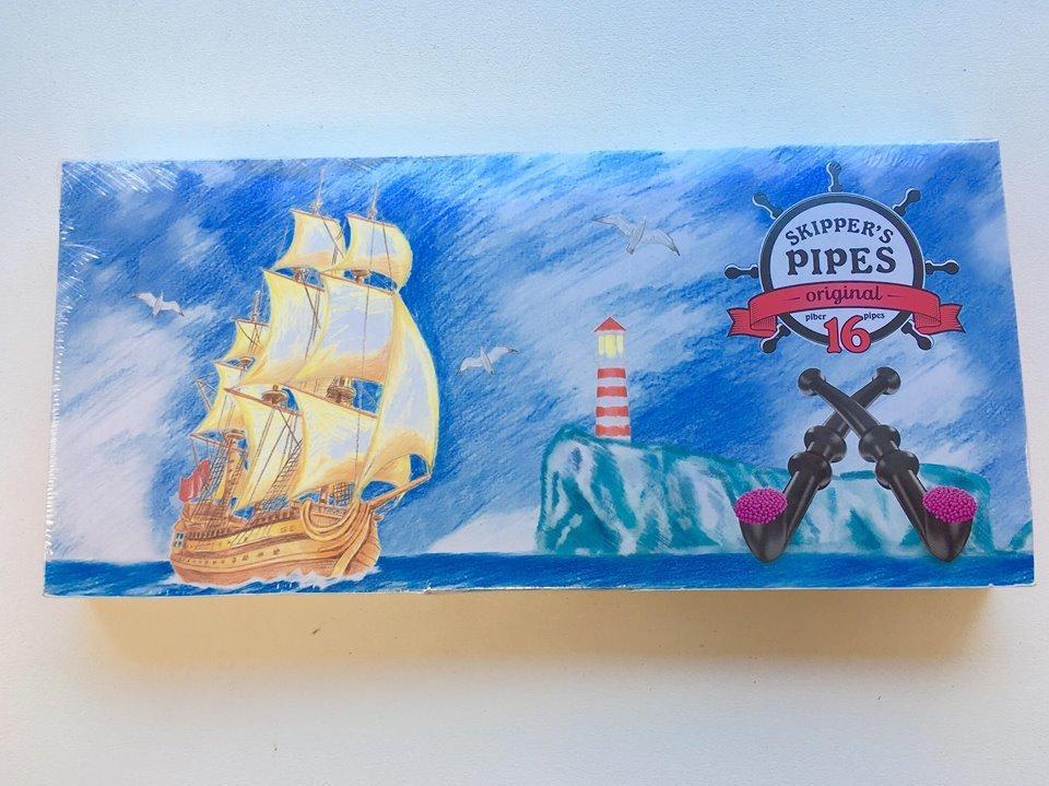 Liquorice - Skippers Original Pipes