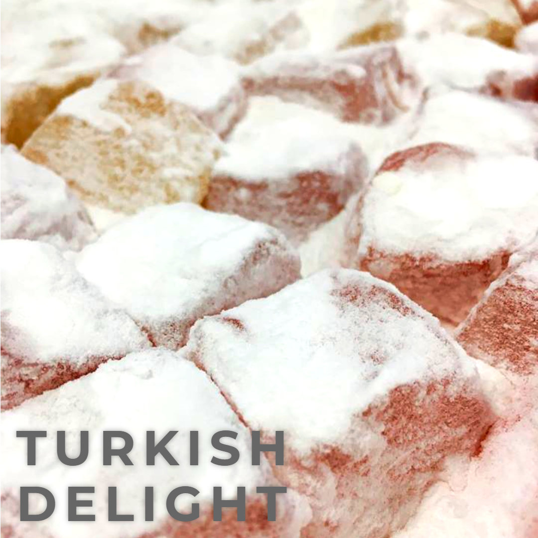 Turkish Delight - Rose & Lemon