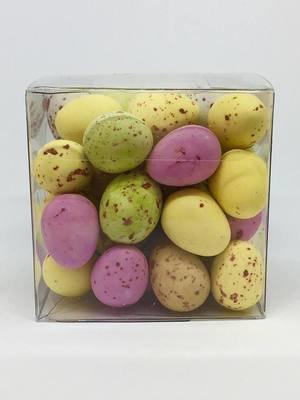 Mini Chocolate Eggs Cube