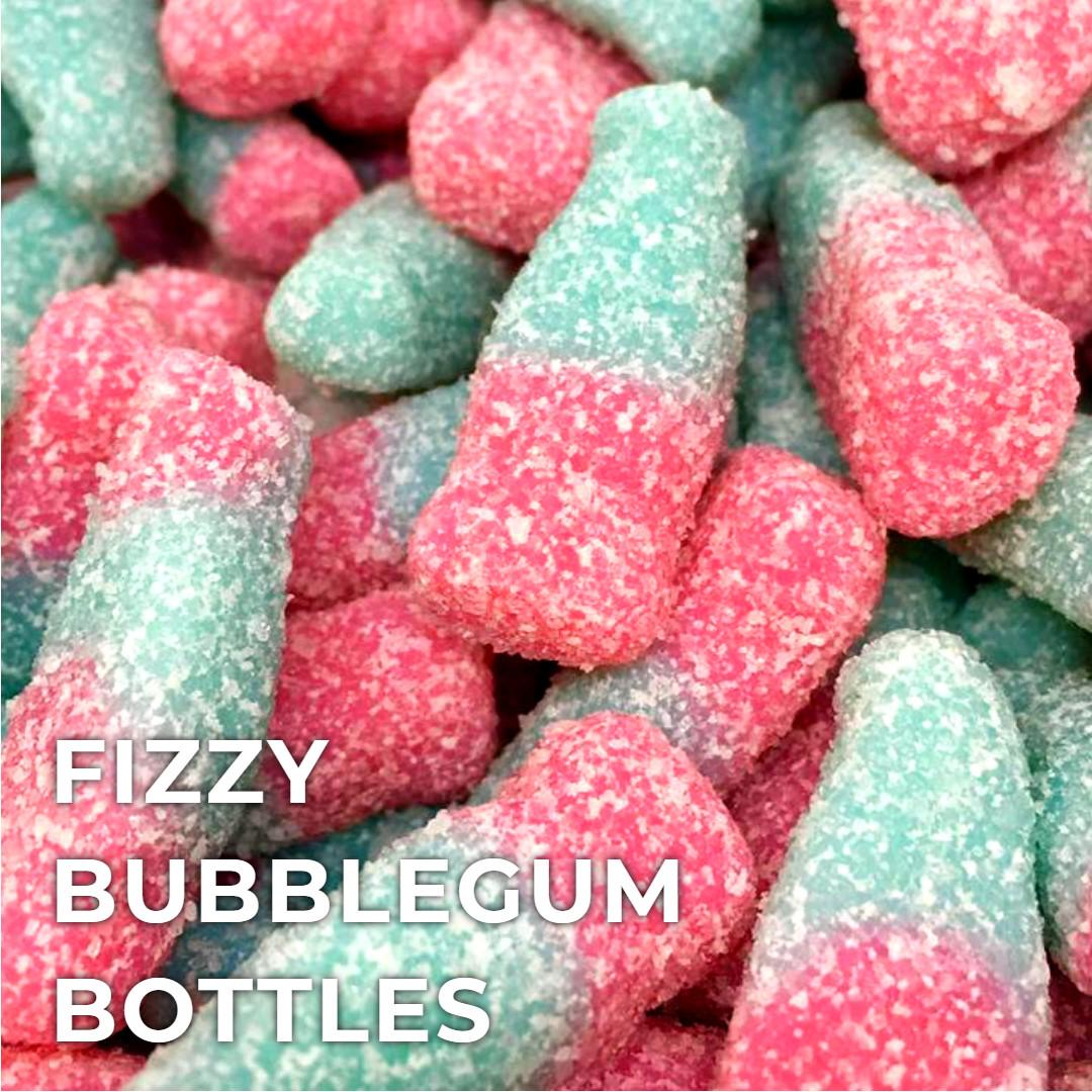 Fizzy Bubble Gum Bottles