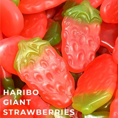 Giant Strawberries - Haribo