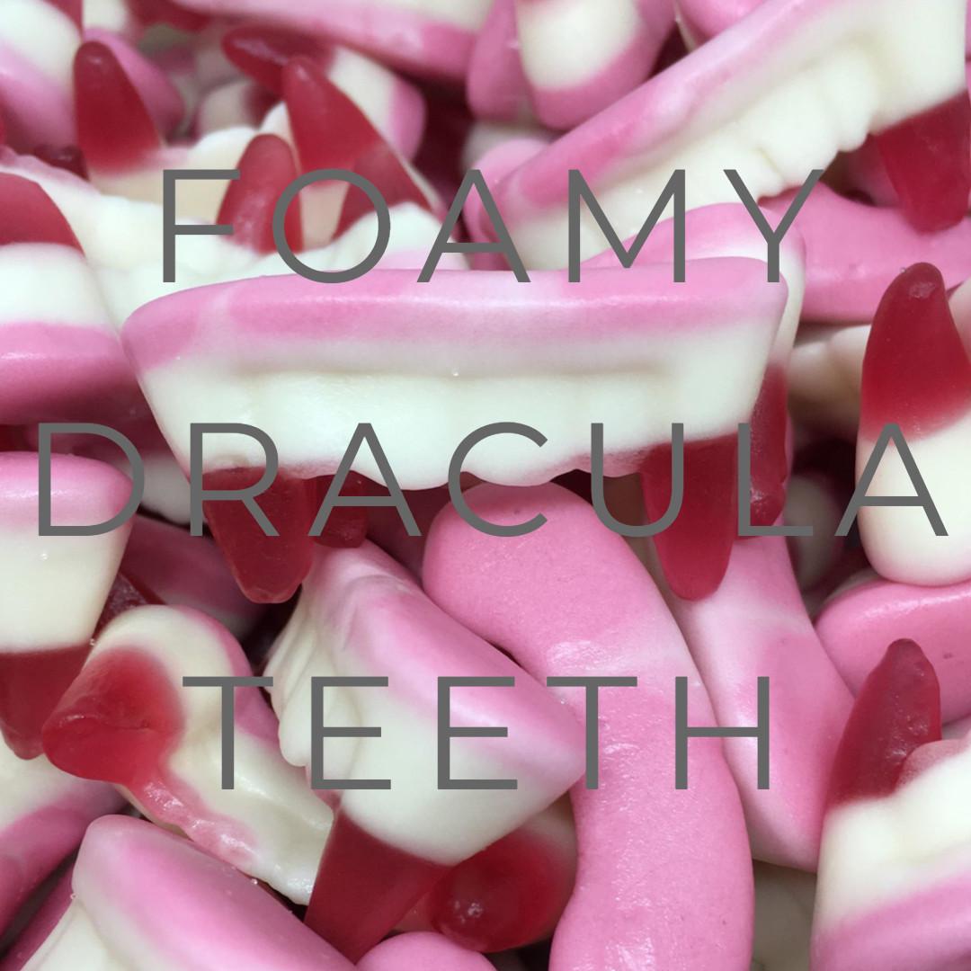 Halloween Collection - Foamy Dracula Teeth