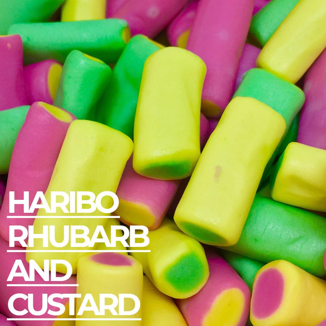 Haribo Rhubarb & Custard