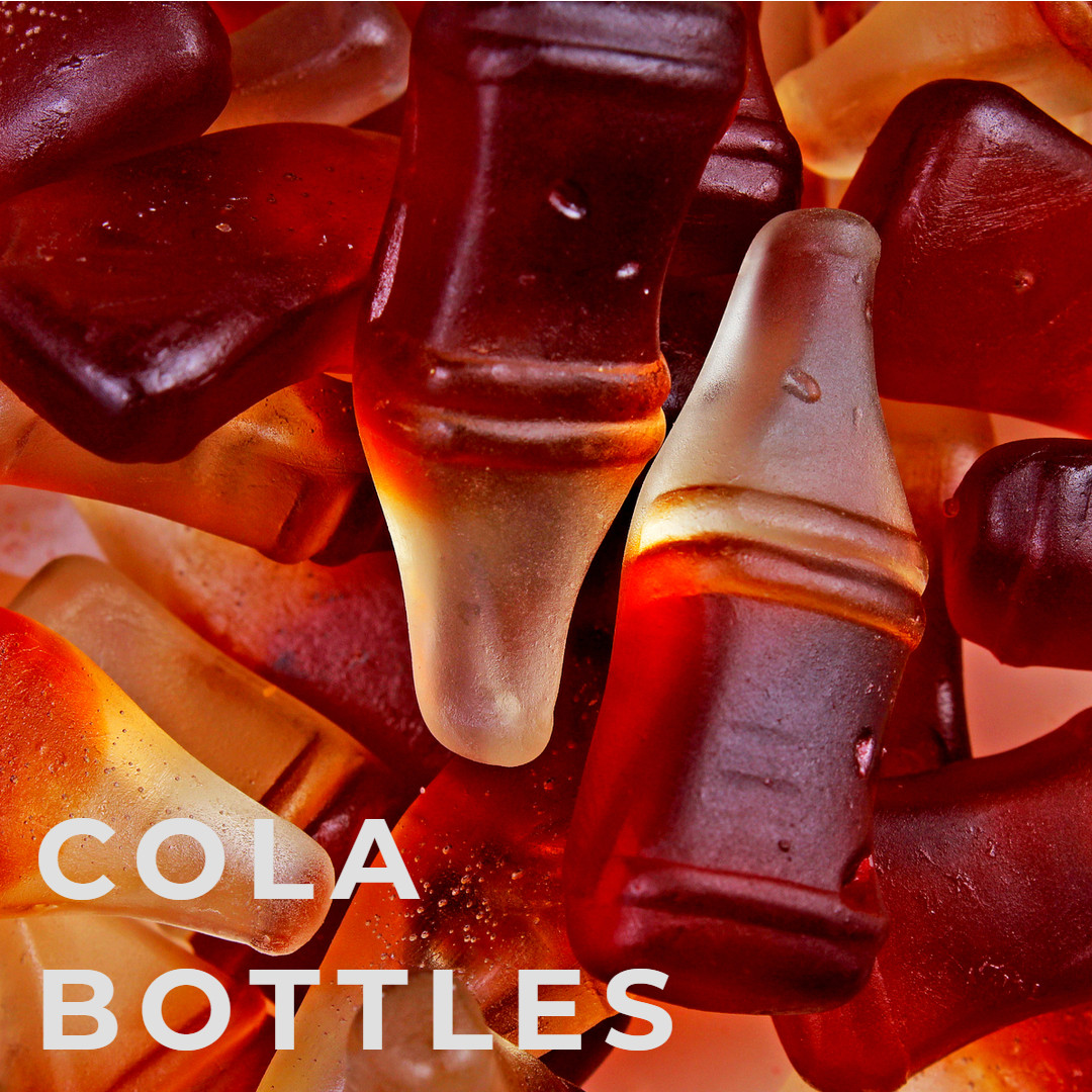 Jelly Cola Bottles