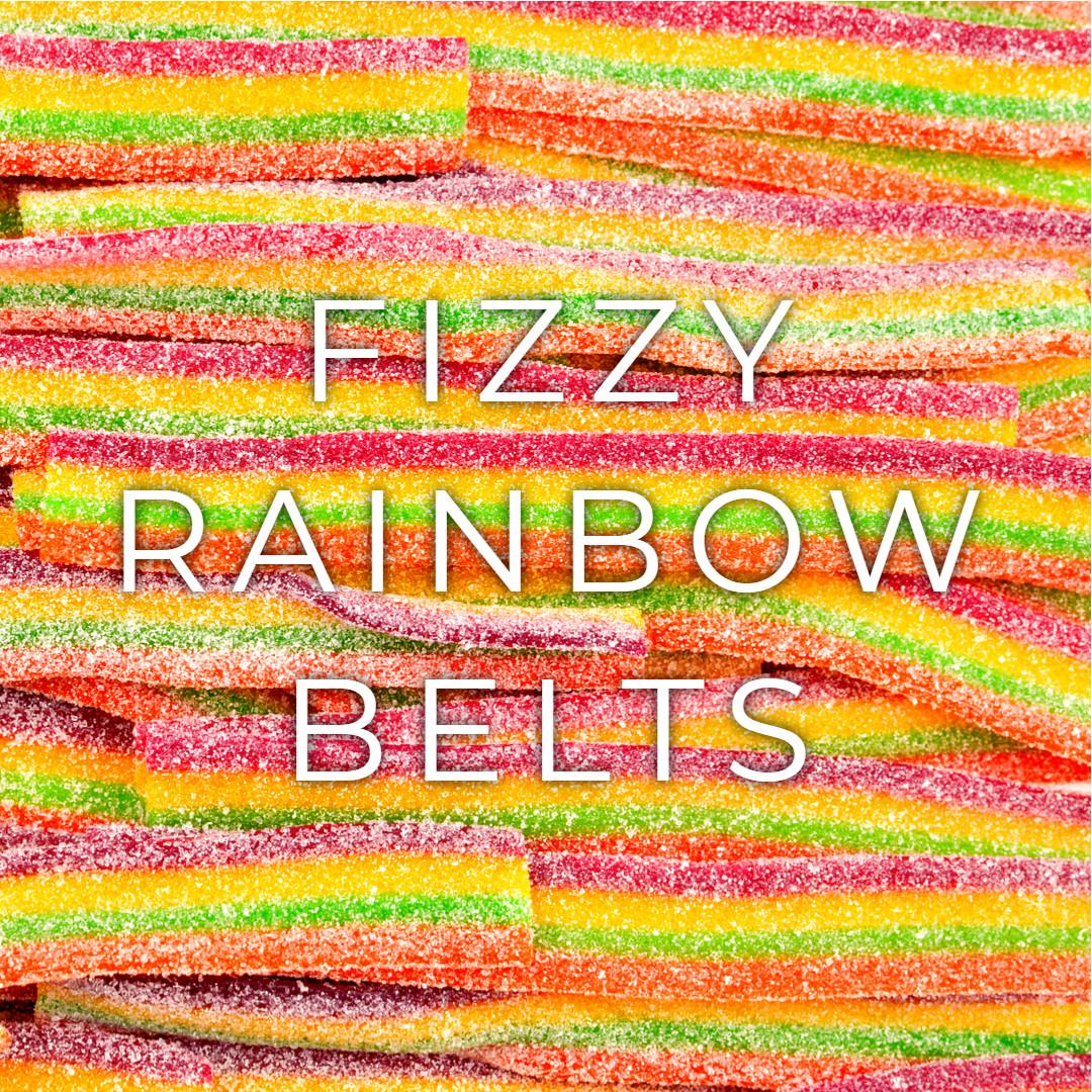 Long Fizzy Rainbow Belts