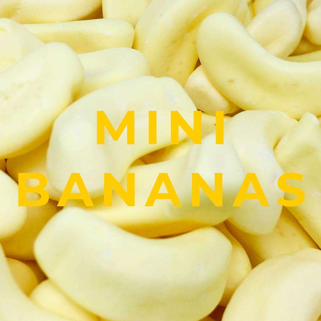Mini Foam Bananas
