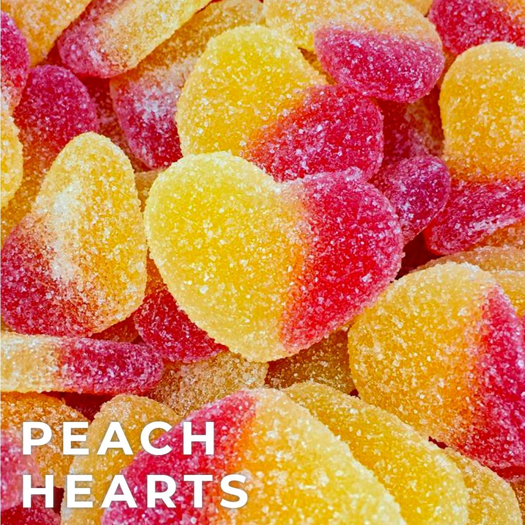 Fizzy Heart Peaches