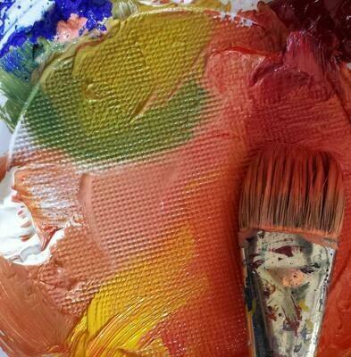 Online lessen 'Eindeloos kleuren mengen'