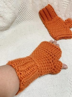 Snuggle Fingerless Gloves