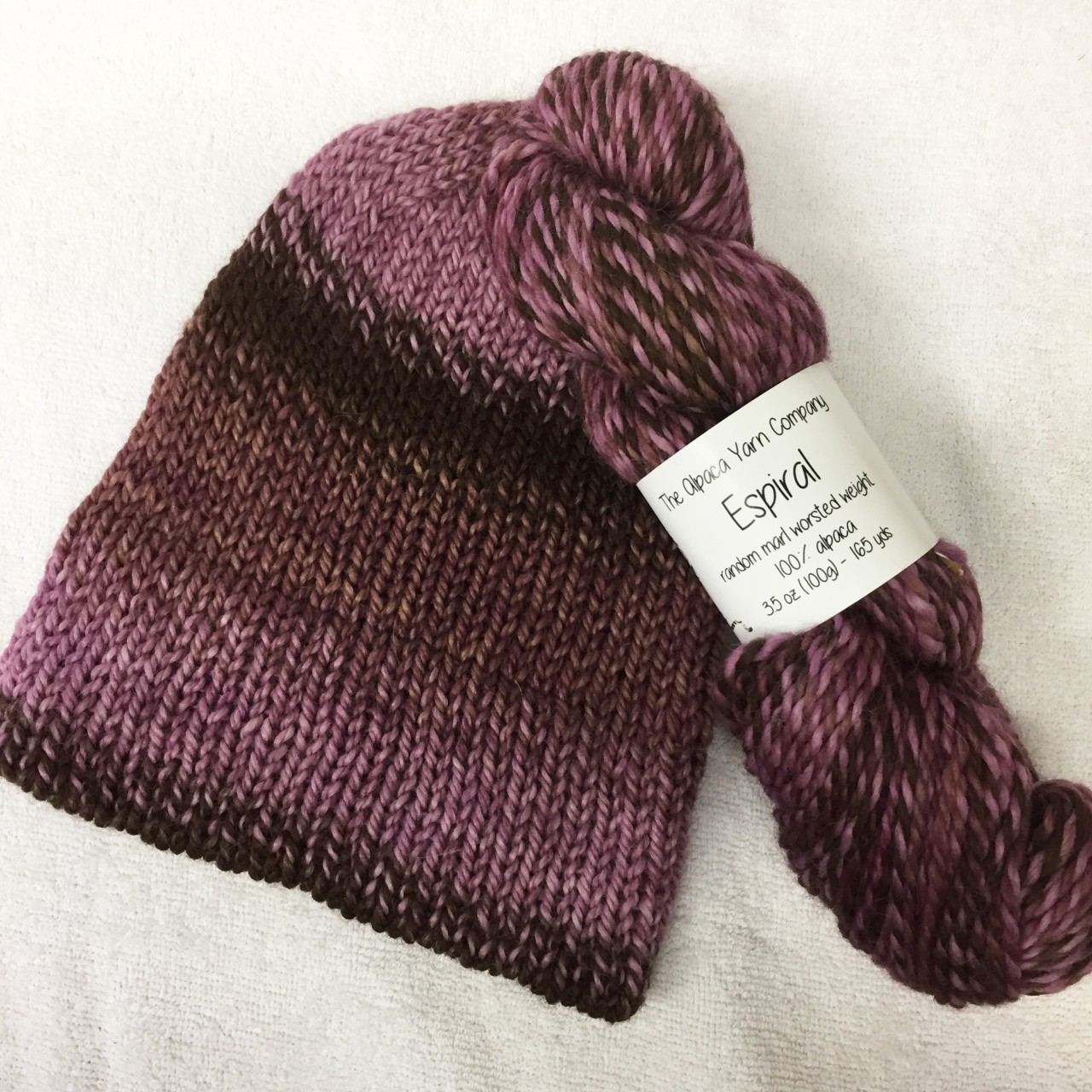 Espiral Alpaca Yarn - Plum Pudding