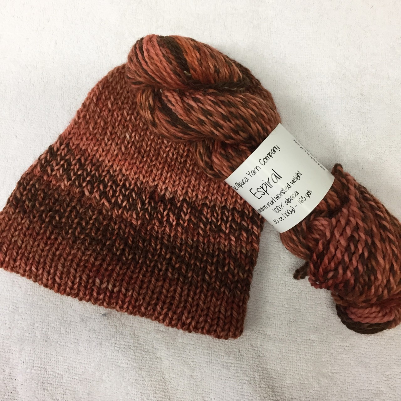 Espiral Alpaca Yarn - Birch Beer