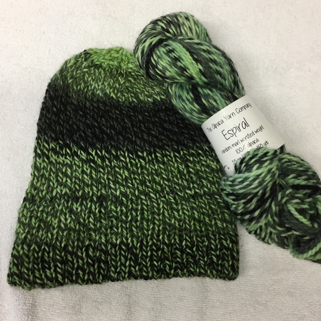 Espiral Alpaca Yarn - Key Lime