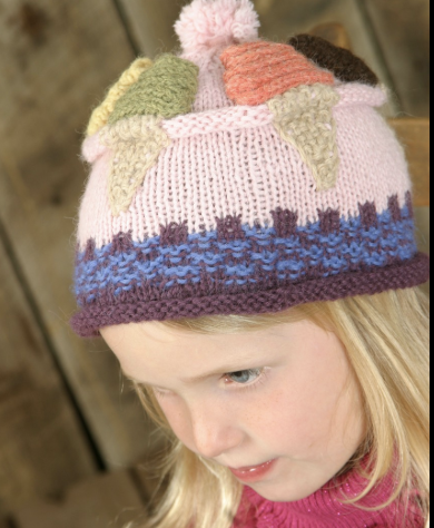 Frosty Flavors Hat Pattern