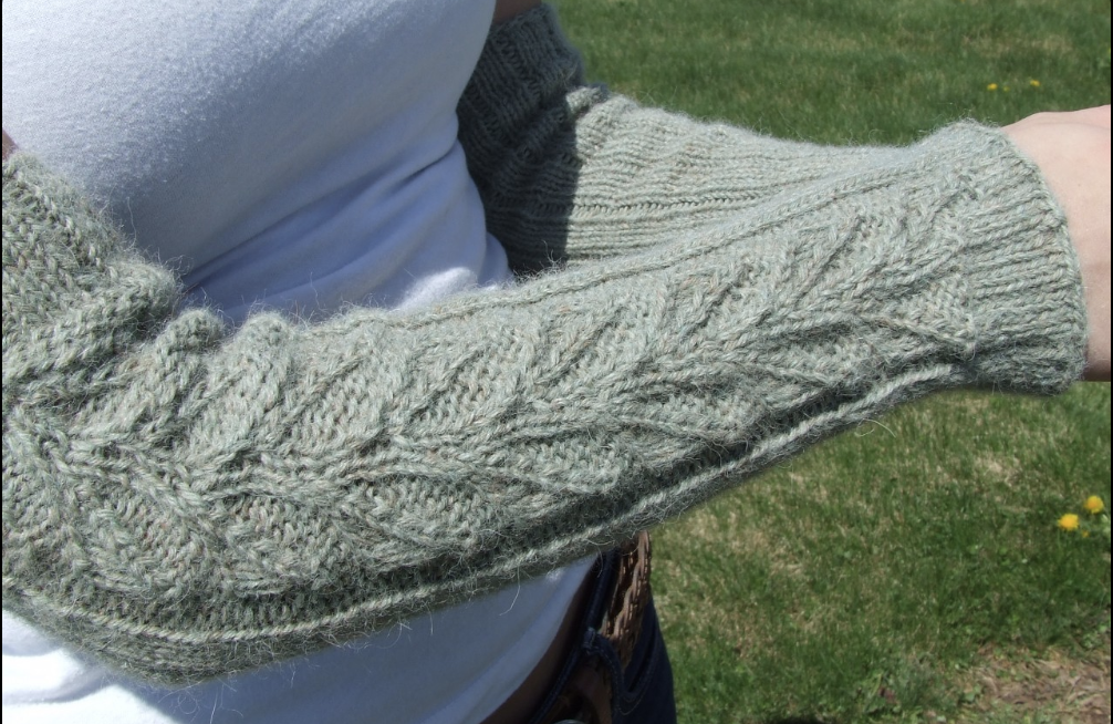 Newberry Arm or Leg Warmers Pattern