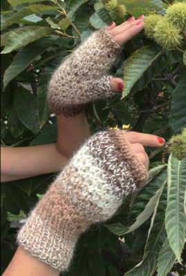 Nazca Circles Pattern - Hat and Mitts