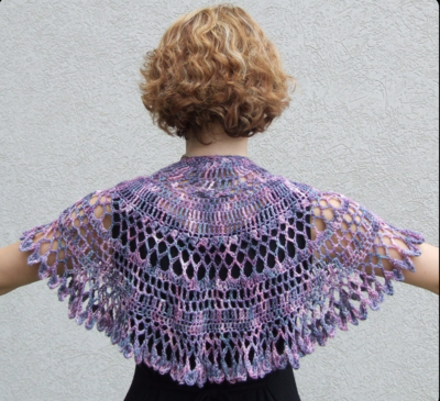 Summer Twilight Shawlette Pattern