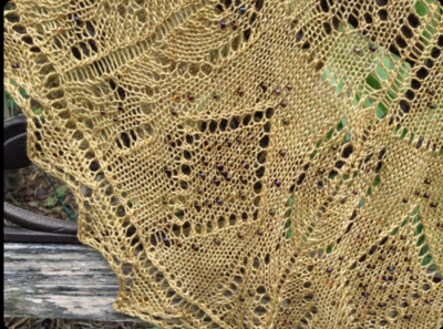 Queen of Diamonds Shawl Pattern