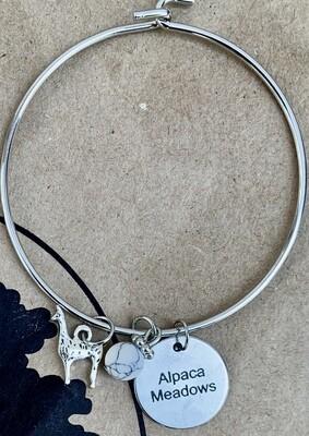 Alpaca Meadows Charm Bracelet