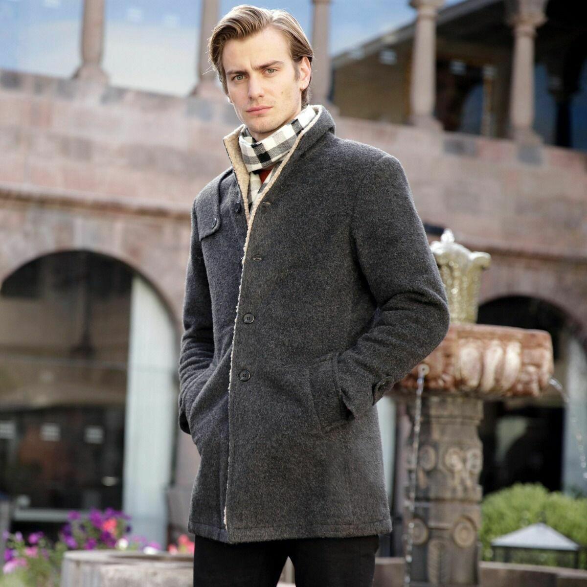 Stamos Alpaca Jacket