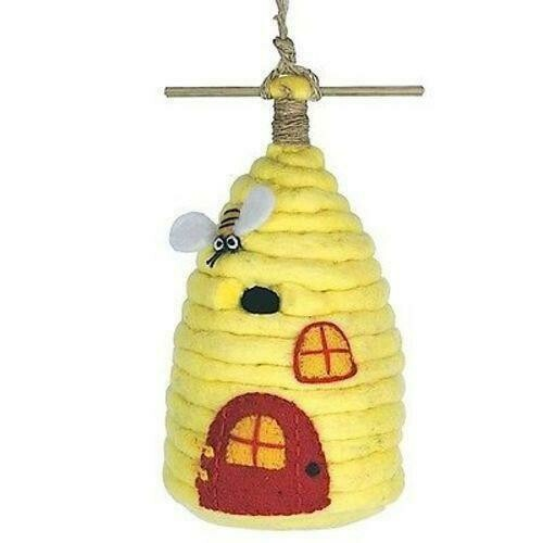Felt Birdhouse - Honey House