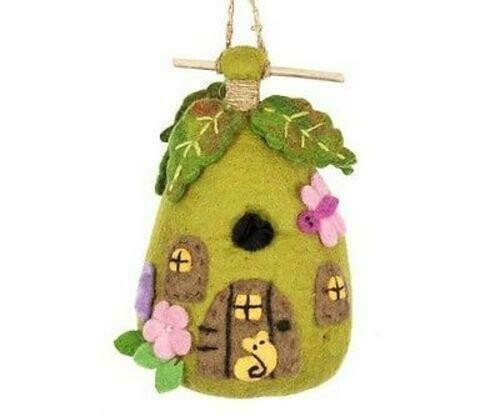 Felt Birdhouse - Fairy House