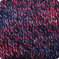 Hand-Dyed Swizzle Alpaca Yarn - Punk Rock Princess