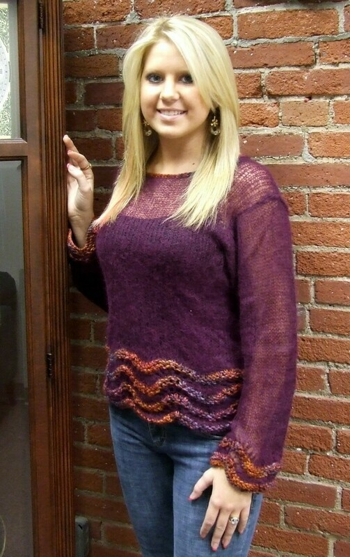 Angelwing Pullover and Cowl