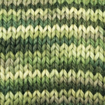 Snuggle Yarn - A Group of Greens