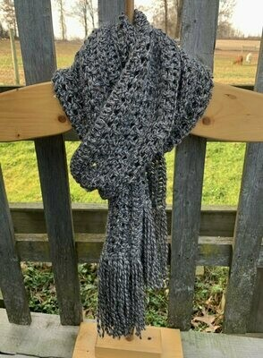 Go With The Flow Alpaca Scarf