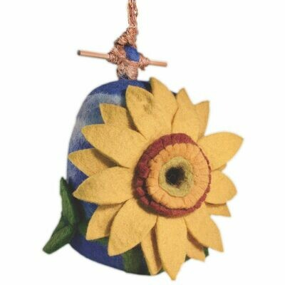 Felt Birdhouse - Sunflower