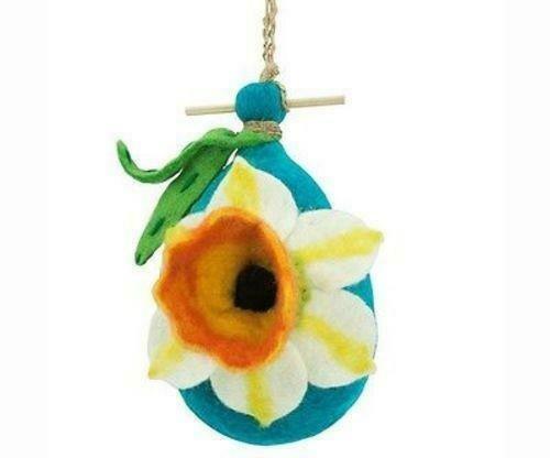 Felt Birdhouse - Daffodil