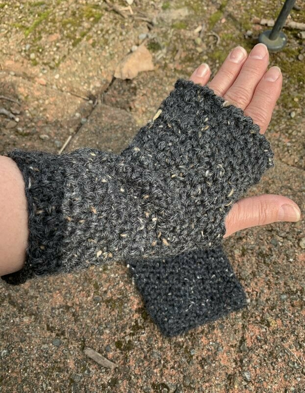 Stonehenge Fingerless Alpaca Gloves