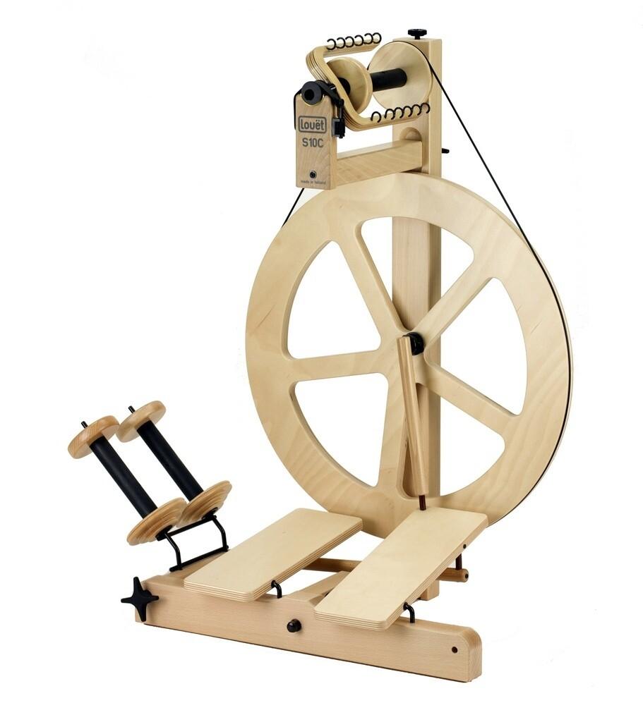 Louet S10 Art Yarn Spinning Wheel