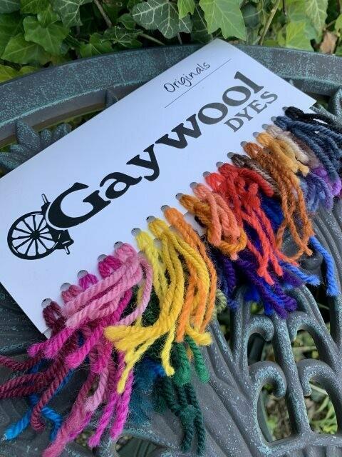 Gaywool Dyes - Originals