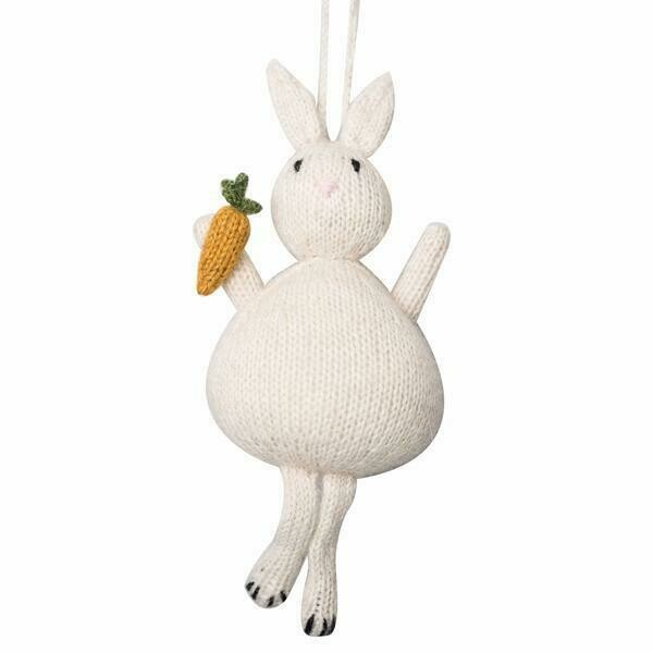 Alpaca Bunny Ornament