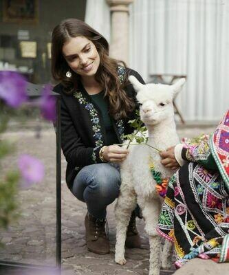 NEW Eden Reversible Alpaca Cardigan