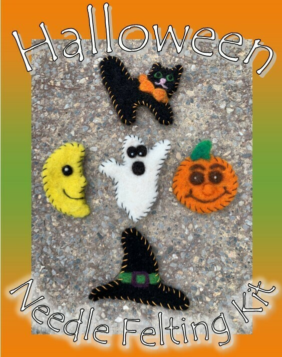 Halloween Felting Kit