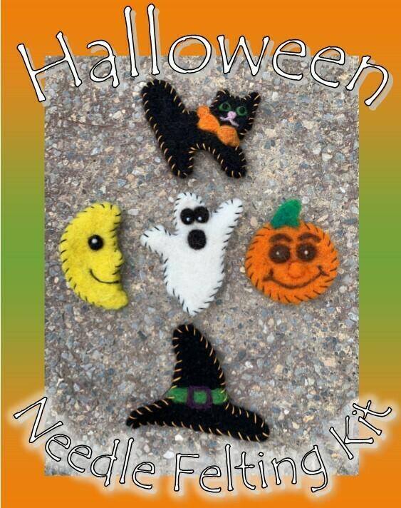 Halloween Needle Felting Kit