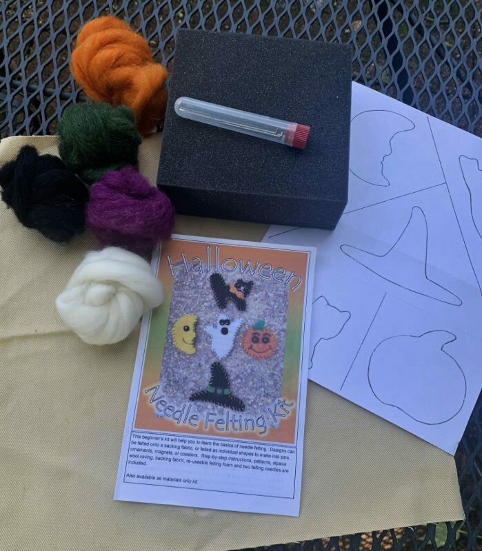 Halloween Felting Kit for Beginners