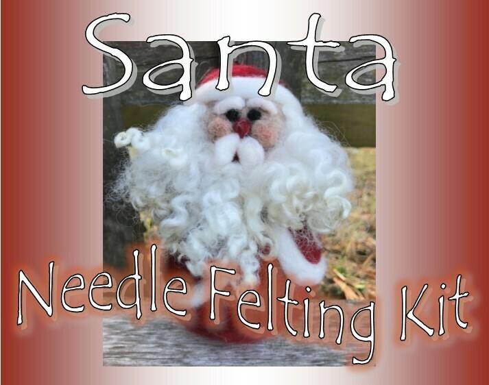 Santa Needle Felting Kit
