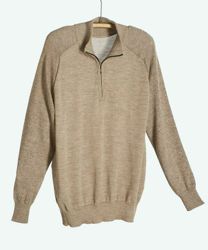 NEW Men's York 1/2 Zip Alpaca Sweater