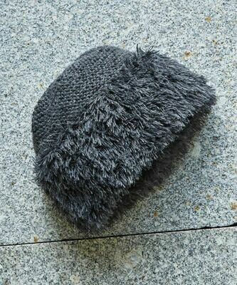 NEW Shag Knit Alpaca Cap